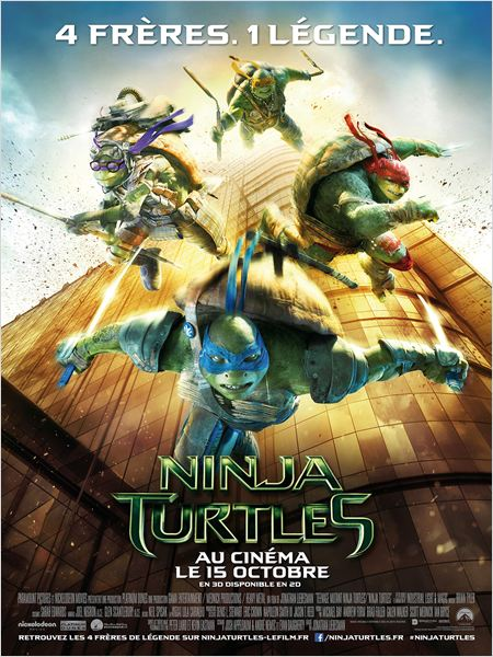 Telecharger Ninja Turtles FRENCH BDRIP Gratuitement