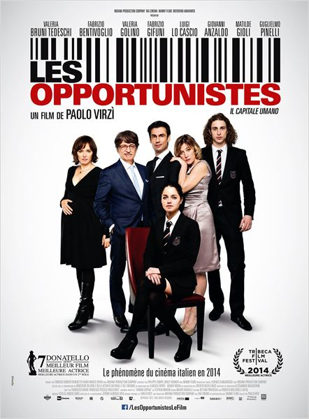CINEMA: <i>Les opportunistes</i> (2013), la dolce vita / <i>Human Capital</i> (2013), the dolce vita 2 image