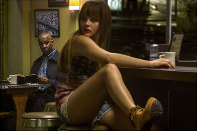 Equalizer : Photo Chloë Grace Moretz, Denzel Washington