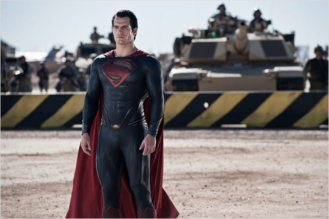 Man of Steel : Photo Henry Cavill