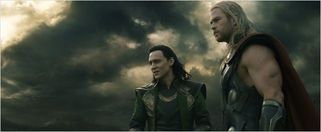 Thor : Le Monde des ténèbres : Photo Chris Hemsworth, Tom Hiddleston