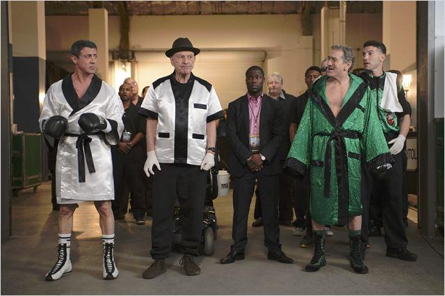 Match retour : Photo Alan Arkin, Jon Bernthal, Kevin Hart, Robert De Niro, Sylvester Stallone