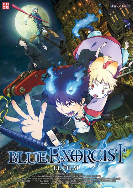 Telecharger Blue Exorcist: Le Film  Blu-Ray 1080p MULTI Gratuitement