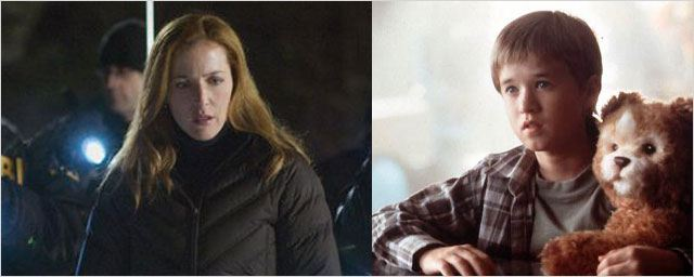 "Gillian Anderson et Haley Joel Osment dans le film de SF ""I'll follow you down"""