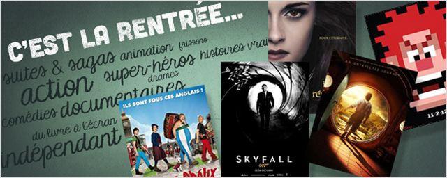 Les bandes annonces de la rentrée 2012 !