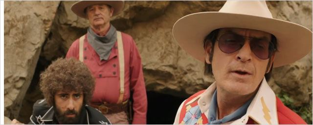 Charlie Sheen chez Roman Coppola : la bande-annonce ! [VIDEO]