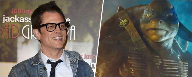 Ninja Turtles : le Jackass Johnny Knoxville doublera Leonardo