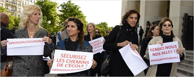 Bring Back Our Girls : Léa Seydoux, Sandrine Kiberlain, Lisa Azuelos...mobilisées au Trocadéro