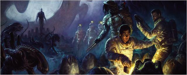 Alien, Predator et Prometheus réunis dans un comic book