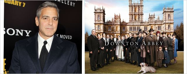 George Clooney s'incruste à Downton Abbey