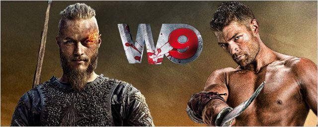 Soirée sanglante sur W9 avec Spartacus et Vikings