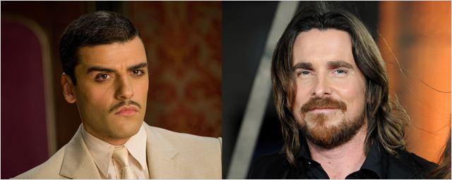 Christian Bale et Oscar Isaac chez le réalisateur de Hotel Rwanda
