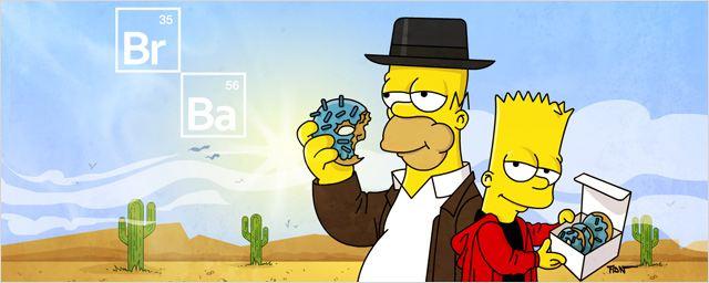 Game of Thrones, Breaking Bad... Voici vos séries préférées Simpsonisées !