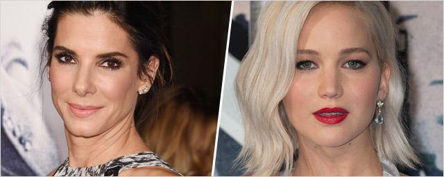 "Jennifer Lawrence et Sandra Bullock voleuses dans un Ocean's Eleven version ""femmes"" ?"