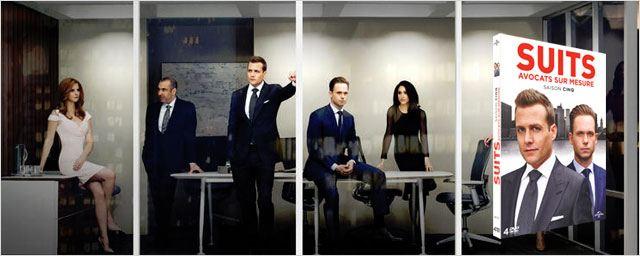 Suits, saison 5 : des bonus sur Harvey et les liens complexes qui unissent les membres du cabinet