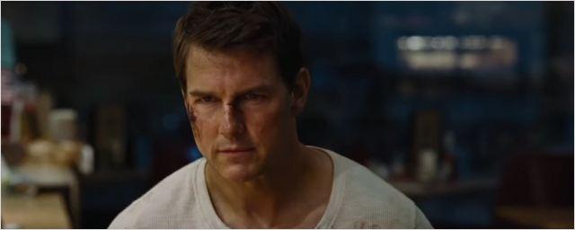 Tom Cruise est très énervé dans la bande-annonce de Jack Reacher Never Go Back !