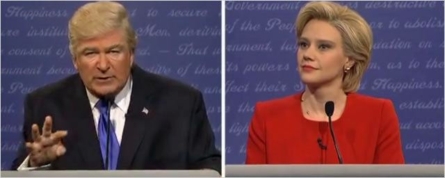 Alec Baldwin est Donald Trump, Kate McKinnon est Hillary Clinton… pour le SNL