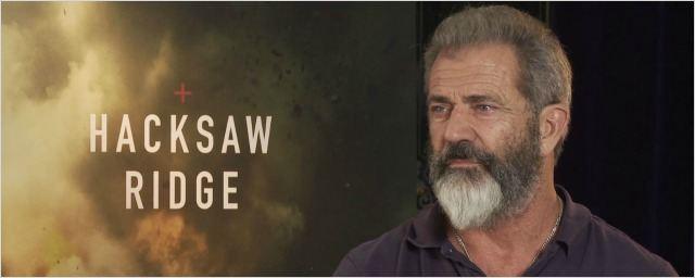 """Mel Gibson (Tu ne tueras point) : """"C'est l'une des histoires les plus héroïques de tous les temps"""""""