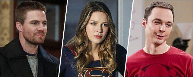 """Rattrapage séries : du crossover super-héroïque de la CW à Christopher Lloyd dans """"The Big Bang Theory"""", tout ce qu'il faut retenir cette semaine !"""