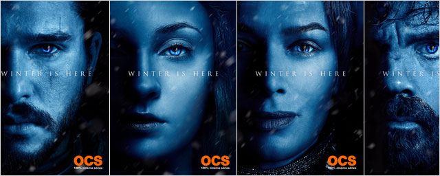 Game of Thrones : 12 affiches personnages dévoilées pour la saison 7