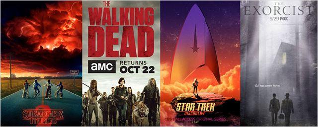 Stranger Things, The Walking Dead, Star Trek Discovery... Les séries font le plein d'affiches