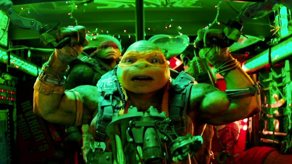 Trailer du film ninja turtles 2 ninja turtles 2 bande for Repere des tortue ninja