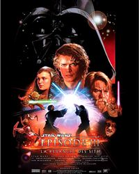 Affiche du film Star Wars : Episode III - La Revanche des Sith