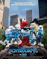 Affiche du film Les Schtroumpfs