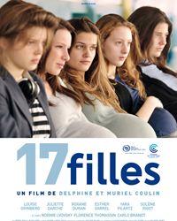 Affiche du film 17 filles