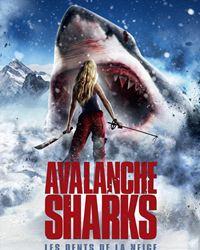 Affiche du film Avalanche Sharks - les dents de la neige