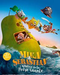 Affiche du film Mika & Sebastian : l'aventure de la Poire Géante