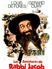 Affiche du film Les aventures de Rabbi Jacob