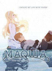 "Cinéma asiatique, film d'animation japonais de Mari Okada ""Maquia : when the promised flower blooms"""