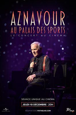 Aznavour au Palais des Sports