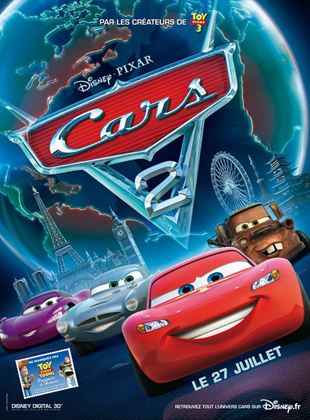 Bande-annonce Cars 2