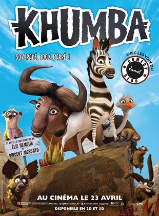 Bande-annonce Khumba