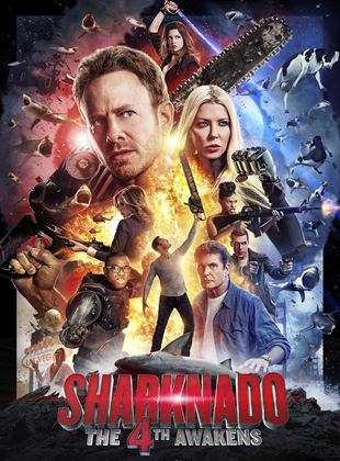 Bande-annonce Sharknado: The 4th Awakens