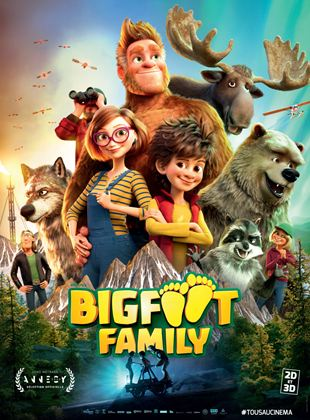 Bande-annonce Bigfoot Family