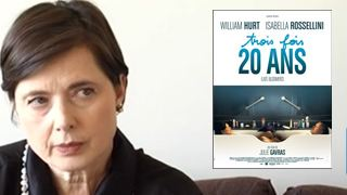 """3 fois 20 ans"" : Isabella Rossellini au micro ! [VIDEO]"