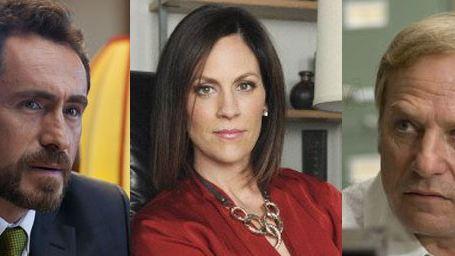 """Demian Bichir, Annabeth Gish et Ted Levine sur les rives de """"The Bridge"""""""