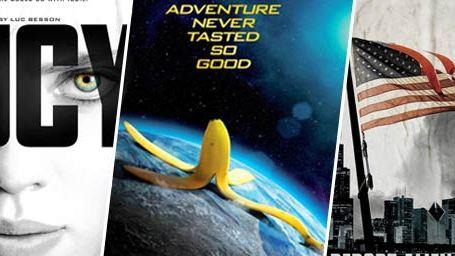 Lucy, Bananaman, Transformers 4... Le plein d'affiches !