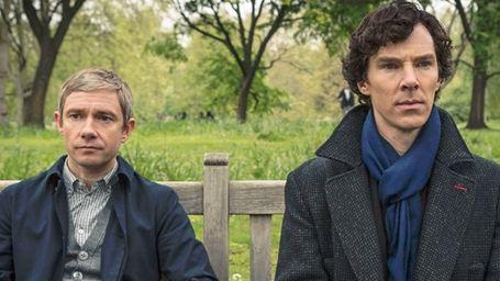 Sherlock : première photo old school pour l'épisode spécial