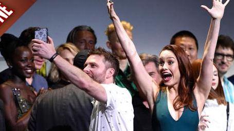 Captain Marvel, Justice League... Ils font le show au Comic Con !