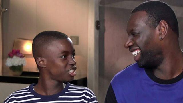 """YAO présenté par le tandem Omar Sy et Lionel Louis Basse, la future """"star préférée de Nollywood"""""""