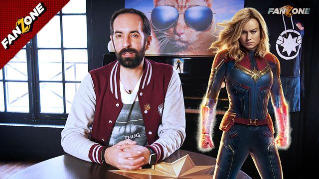 FanZone #799 - Captain Marvel : girl power dans le MCU !