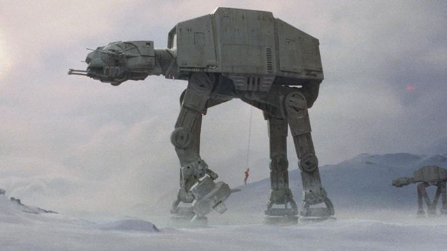 Star Wars - L'Empire contre-attaque : les secrets de fabrication des quadripodes impériaux