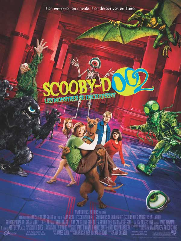 Télécharger Scooby-Doo 2 : les monstres se déchaînent Gratuit DVDRIP