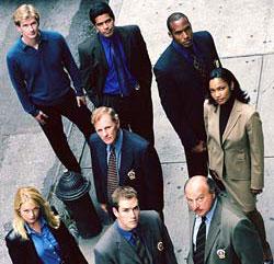 Affiche de la série NYPD Blue