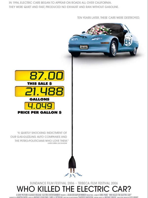 Télécharger Qui a tué la voiture électrique ? Gratuit DVDRIP