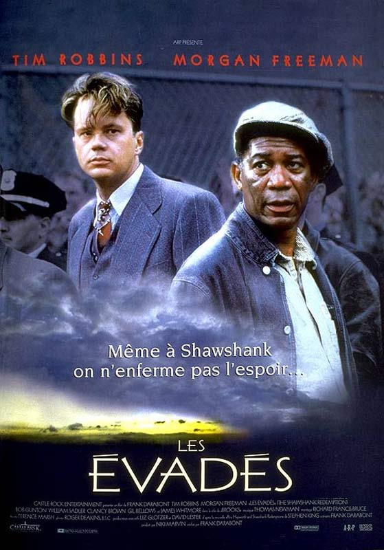 Achat Les Evadés en DVD - AlloCiné